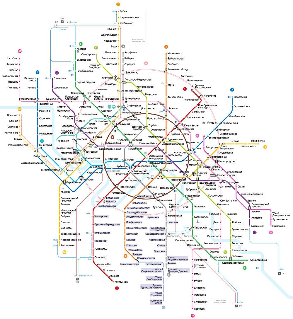 Карта выездов на дрессировку